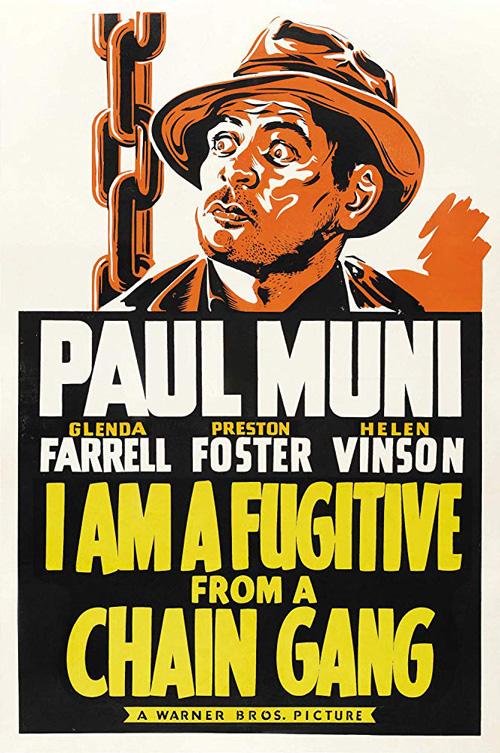IAmaFugitivefromaChainGang-1932-poster