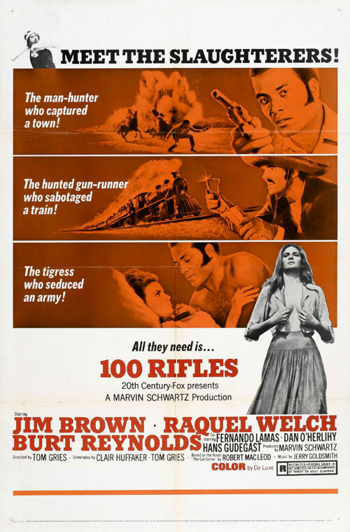 100Rifles-1969-poster