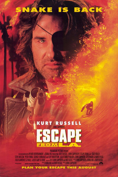 EscapefromLA-1996-poster
