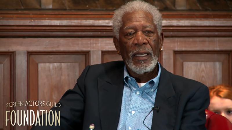 Conversations: Morgan Freeman