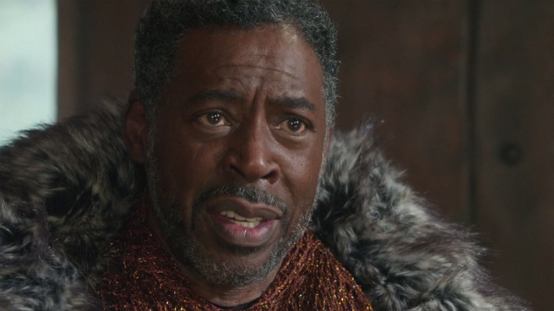 Ernie Hudson Circling King T'Chaka Role