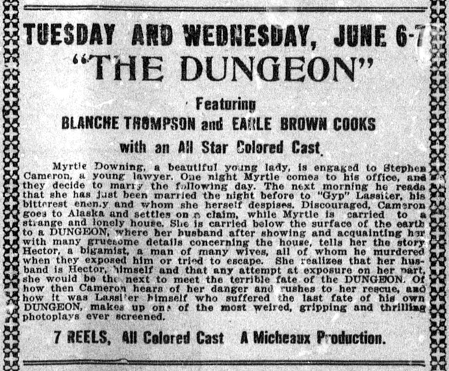 The Dungeon (1922)