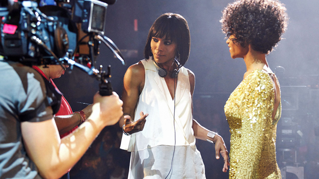Angela Bassett Talks About Whitney Biopic