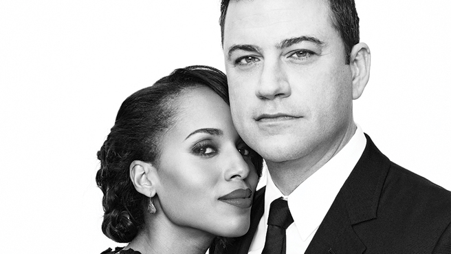 Actors on Actors: Kerry Washington & Jimmy Kimmel…