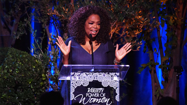 Oprah Empowers Women to Help Others