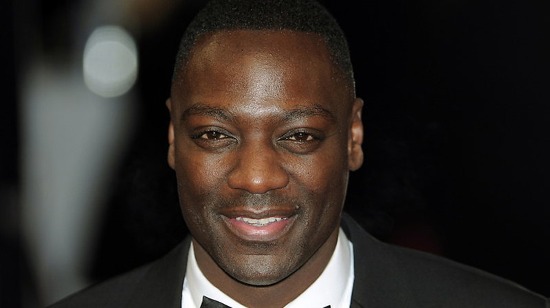 British actor Adewale Akinnuoye-Agbaje poses on the red carpet arriving at the BAFTA British Academy Film Awards at the Royal Opera House in London on February 12, 2012. (CARL COURT/AFP/Getty Images)