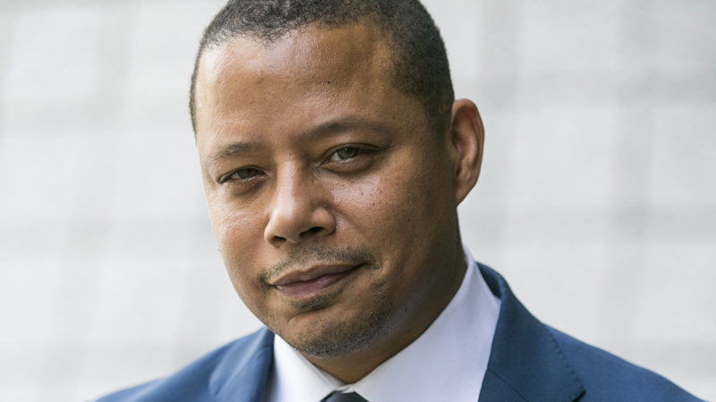 Terrence Howard goes 'Rogue'