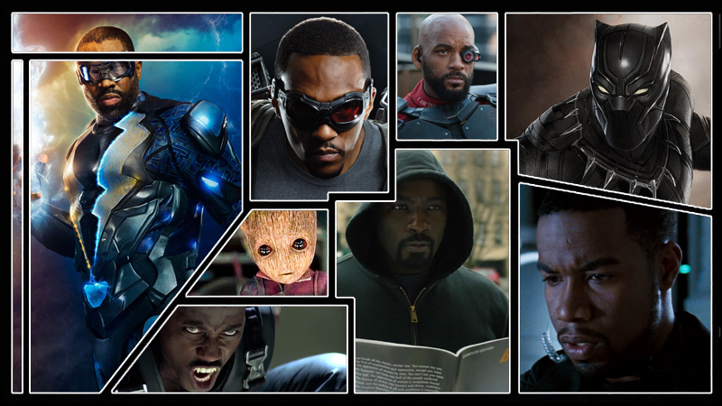 The Rise of Black Superheroes on Screen