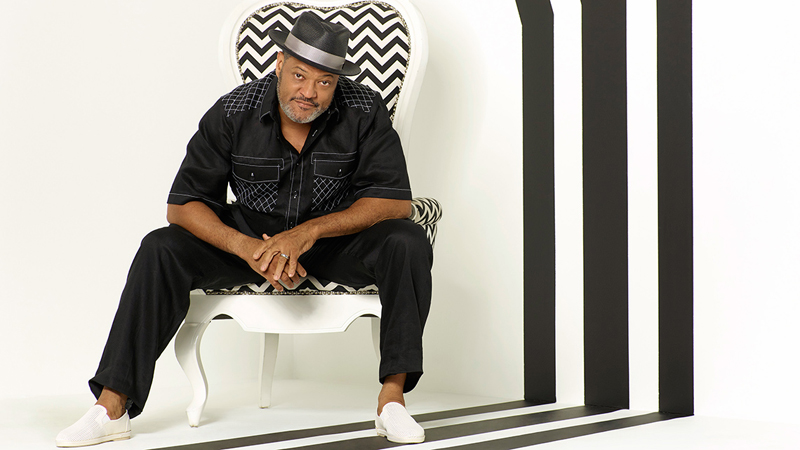 Laurence Fishburne Lightens Up