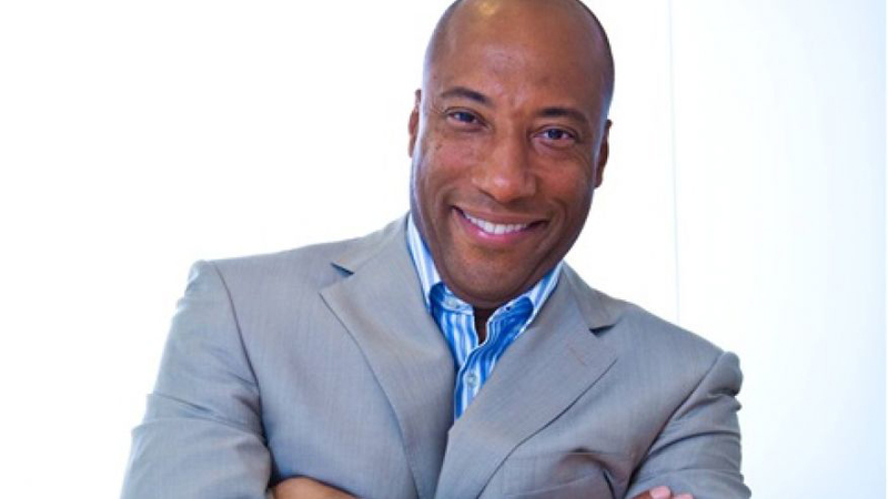 Byron Allen Inspires Exhibitors at CinemaCon