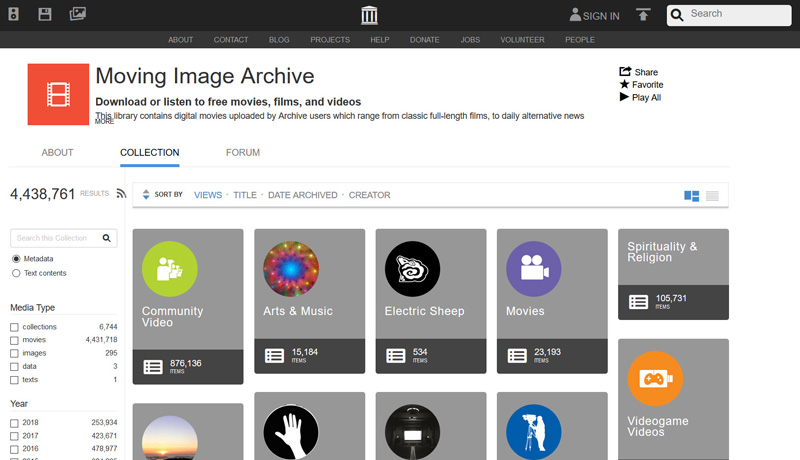 Moving Image Archive