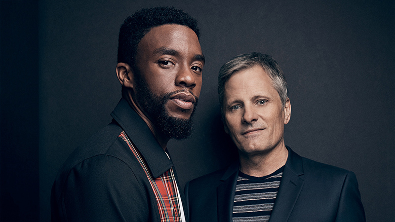 Actors on Actors: Chadwick Boseman & Viggo Mortenson