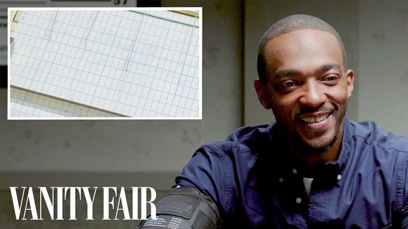 Anthony Mackie Takes a Lie Detector Test