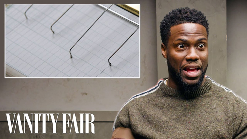 Kevin Hart Takes a Lie Detector Test