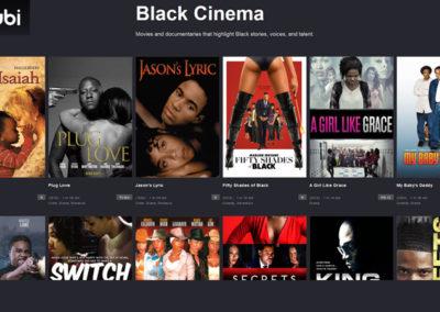TubiTV: Black Cinema