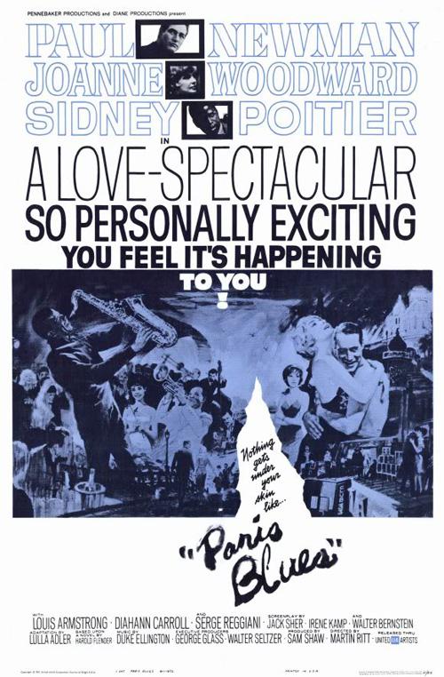 ParisBlues-1961-poster