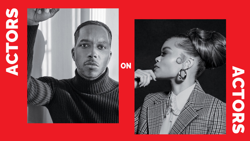Actors on Actors: Leslie Odom Jr., & Andra Day