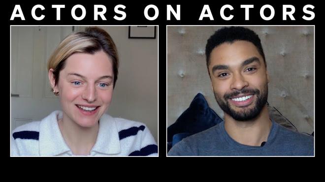 Actors on Actors: Regé-Jean Page & Emma Corrin