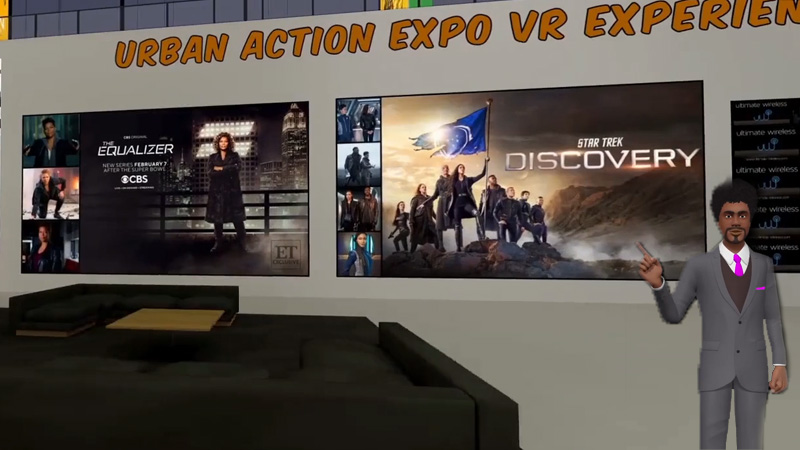 Exhibit at the 2021 UASE 3D/VR Experience